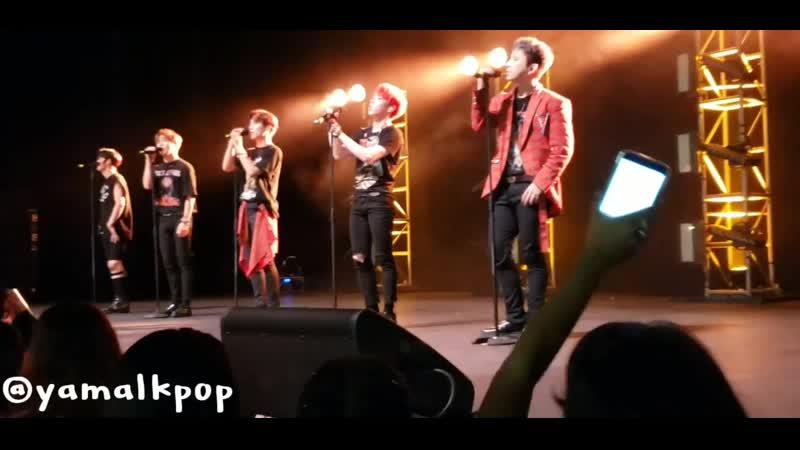 FANCAM | 131219 | A.C.E - Easier 5tar @ UC: AREA US in Puerto Rico Concert