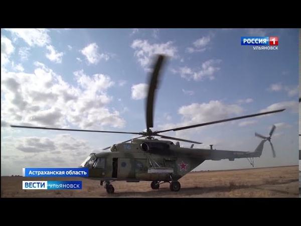 Атака под прикрытием военных вертолетов