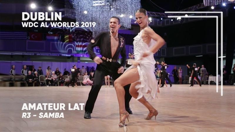 Adam Hathazi - Morgana Lakatos Hayward, ENG | 2019 Dublin | World Amateur LAT - R3 S
