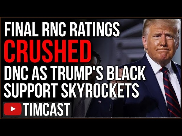 Republicans CRUSHED Democrats In Ratings Trump Black Support SKYROCKETS Hinting Trump Reelection