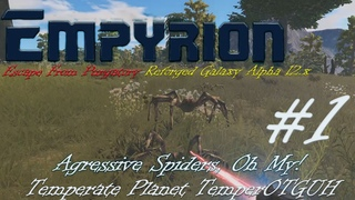 Empyrion Escape From Purgatory-Reforged Galaxy Alpha 12.xUltra Hard Temperate Planet #1