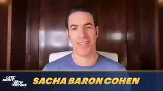 Sacha Baron Cohen Went to a Very Intense Clown School