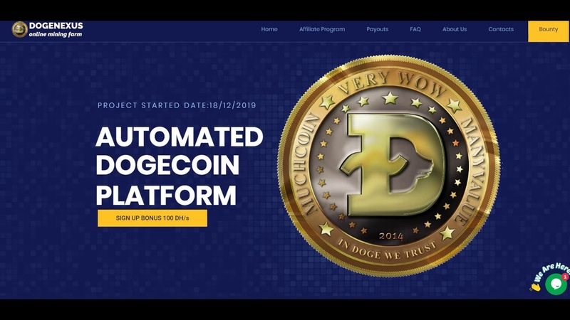 DOGENEXUS - BEST DOGECOIN PROJECTS - WHICH ARE PAYED BY INSTANT