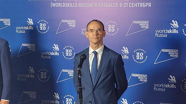 Заместитель главы Министерства просвещения России Дмитрий Глушко.