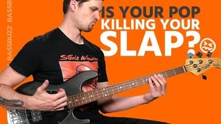 Slap & Pop Bass - Bad vs Good Technique (Beginner/Intermediate)