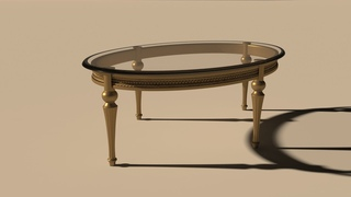 Autodesk 3ds Max Classic Coffee Table Modeling (vray material)