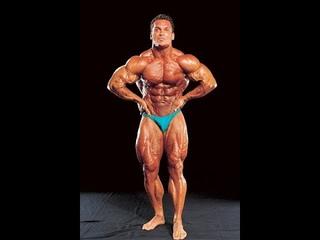 Bodybuilding Rich Gaspari old school Posing Routine