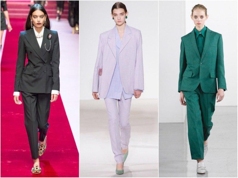 Костюмы из коллекций весна-лето 2018: Dolce&Gabbana, Victoria Beckham и Ports1961