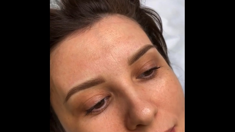 Перманентный макияж бровей всего за 2500 рублей 🔥🔥🔥