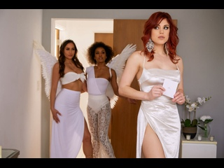Demi Sutra, Desiree Dulce, Molly Stewart - Sky Bound: Part 4 [2020.05.15, Lesbians, Cunnilingus, Big Tits, Brunette]