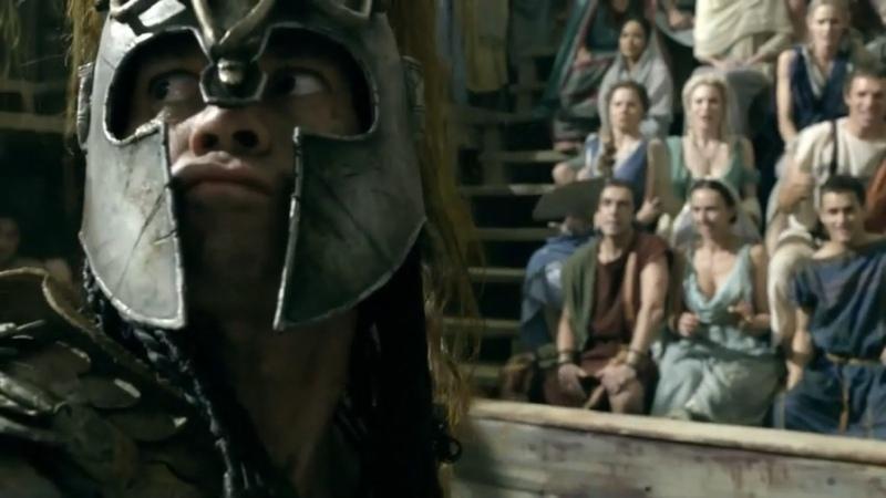 Спартак Боги арены Барка и Гней на арене