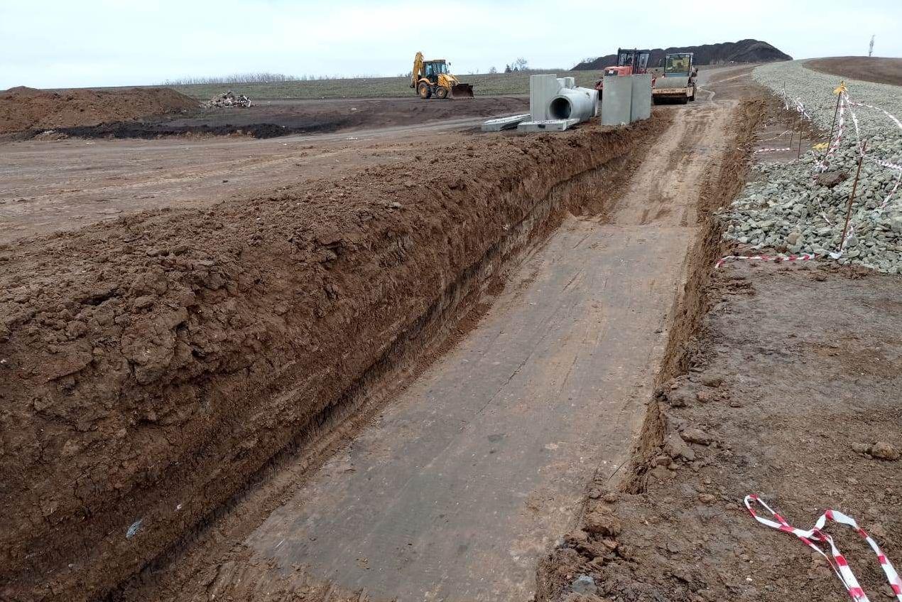 Строительство системы водоснабжения под Таганрогом будет завершено до конца 2022 года