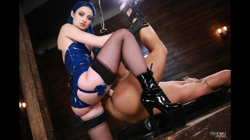 Jewelz Blue Sissy Stretcher Femdom, Strapon, Pegging, Anal, Anal Fingering, Chastity,