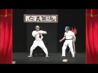 В лучших традициях японских телешоу