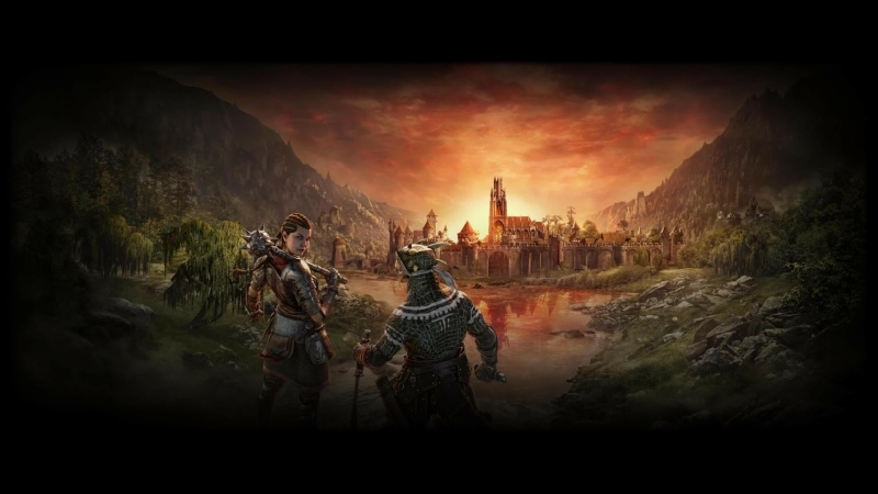 The Elder Scrolls Online (3840х2160, 4К, personal broadcast, without comment)