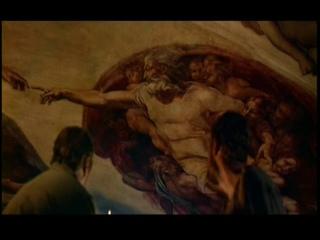 """Фреска Микеланджело (из фильма """"Агония и экстаз"""")"""