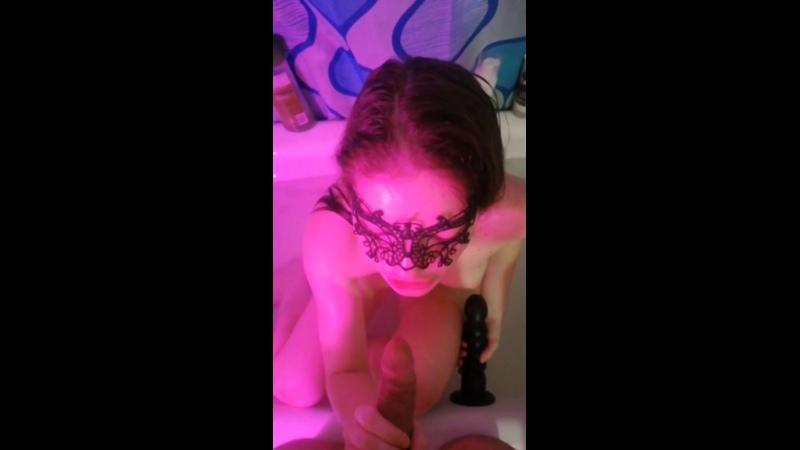 💕💦Секс в ванной со своей сводной сестрой