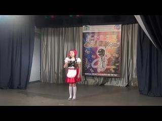 Кульпинова Дарья Александровна. Номер: Песенка Красной Шапочки.