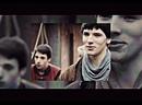 Merlin and Arthur Pendragon