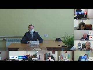 Артур Парфенчиков провел совещание по вопросам социально-экономического развития Суоярвского района