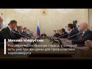 В России зарегистрирована третья вакцина от коронавируса