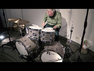 Steve Maxwell Vintage Drums - ROGERS! Check out this beautiful 22_20_12_13_16 Kit With A Powertone