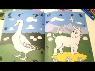 """Живая раскраска """"Затерянная ферма"""" (серия """"Арландия"""") от DEVAR kids"""
