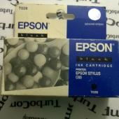Картридж Epson T028 (черный)