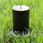 Черная алтарная магическая свеча