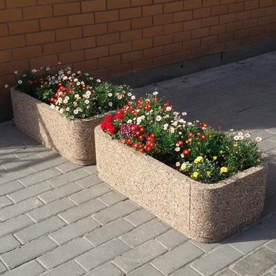Уличные вазоны из бетона купить в омске раствор кладочный цементный хабаровск