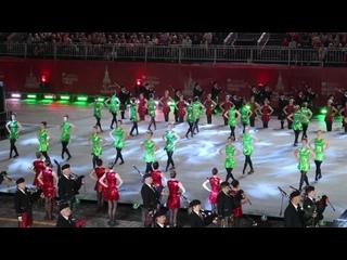 СПАССКАЯ БАШНЯ - 2019. Международный кельтский оркестр волынок и барабанов / Международная команда кельтских танцев