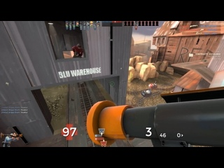 when the scout that's focusing you doesn't know you can bhop