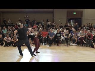 West Coast Swing Dance ¦ Kyle Redd + Victoria Henk ¦ 1st Place Champions Jamp;J - Swingtime 2019
