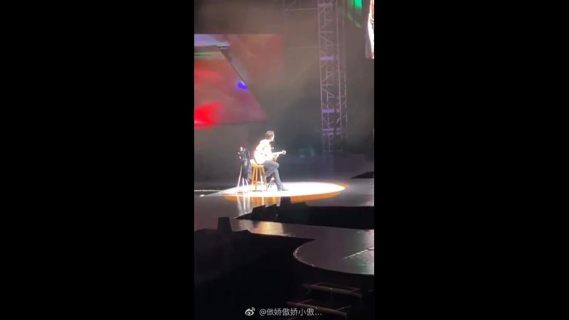 FANCAM 191214 Lay Monodrama @ Grand Line The 1st Concert in Shenzhen