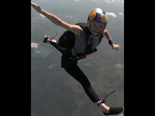 """Maja Kuczynska on Instagram_ """"A fun little skydive I did with @christopherpatz here in Tampa, it's s"""