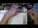 Ремонт матрицы ноутбука. Неравномерная подсветка. Laptop screen repair