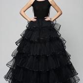 Пышная многоуровневая юбка