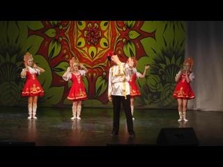 """Русский народный танец. Народная программа. """"Хочу в пляс""""! Шоу-балет """"Силуэт"""""""