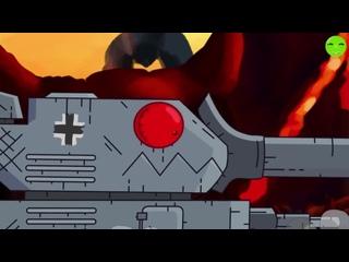 [Банотор] Финальная Битва - Гладиаторские Бои Советский Железный Капут против Гуся Gerand / Мультики про танки