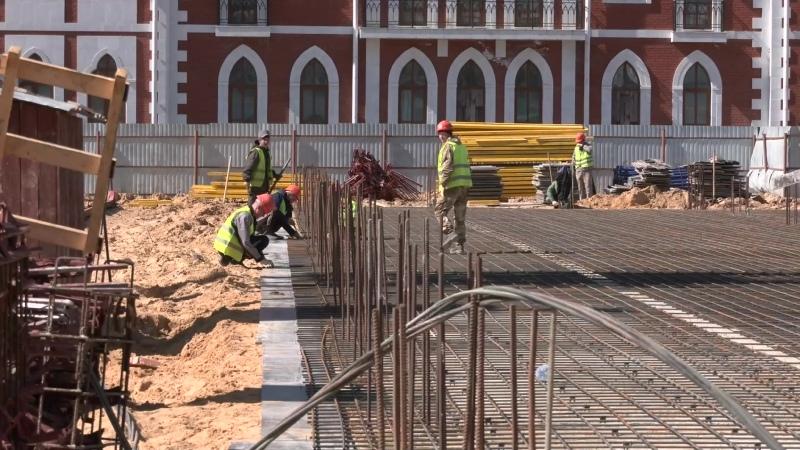 В Йошкар-Оле продолжается строительство Дома дружбы народов