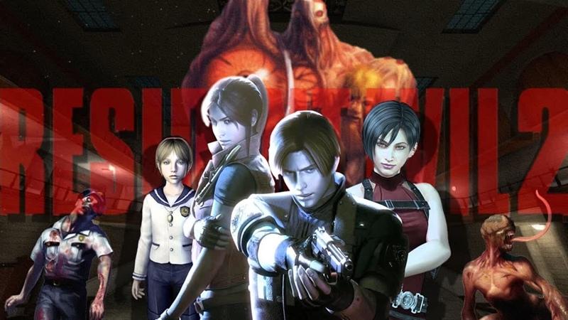 Прохождения Resident Evil 2 Claire A Посвящается Каналу Evil_Buffoon =)