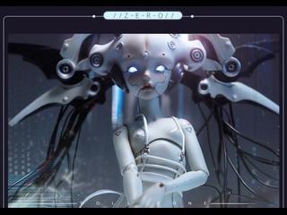 Cyborg Robot Zero - как установить части головы