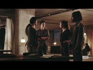 Бойтесь ходячих мертвецов 6 сезон 11 серия Алиша Кларк и Алфия #2