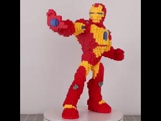 Imebaby8000pcs маленькие частицы, мини строительные блоки, мультфильм, детские игрушки diy, дети, собранные, 3d, строительные