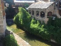 И последнее воспоминание перед новой поездкой: прекраснейший боснийский городок Мостар с невероятно красивыми пейзажами,