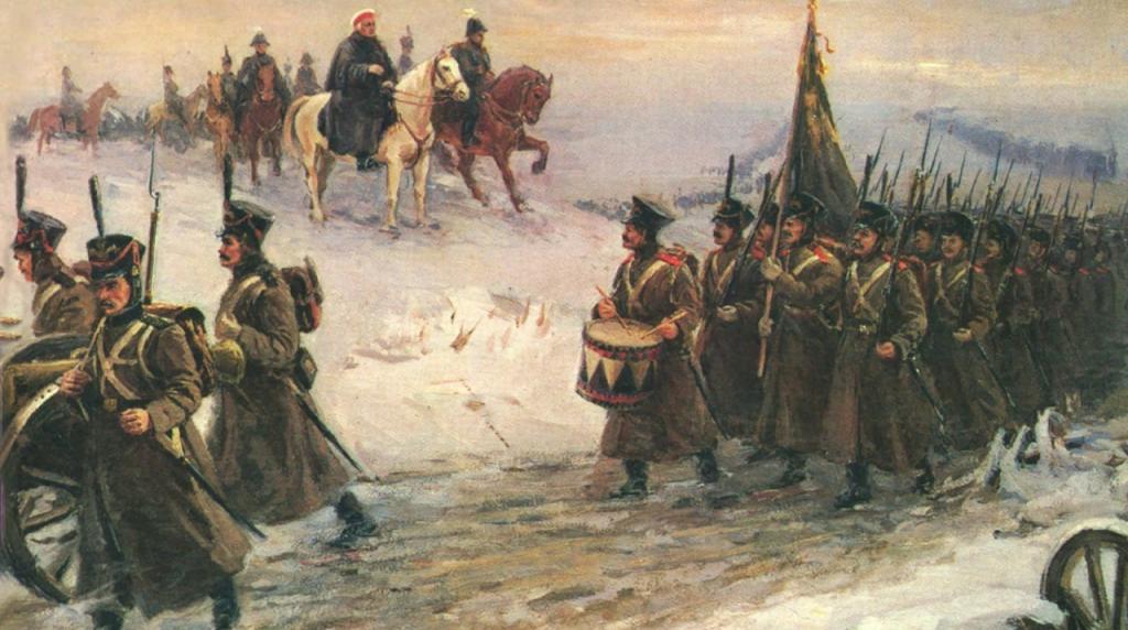 Начало освобождения Европы от Наполеона