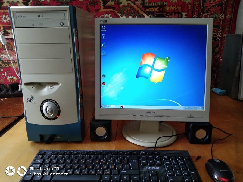 Компьютер в сборе подойдёт для учёбы и | Объявления Орска и Новотроицка №13636