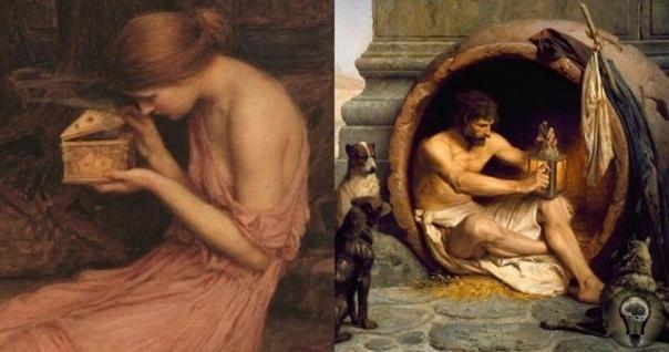Бочка Пандоры Вам, наверняка, известен миф про то, как любопытная Пандора открыла ящик, откуда вылетели болезни, смерть, беды и несчастья. К тому моменту, когда Пандора опомнилась и закрыла