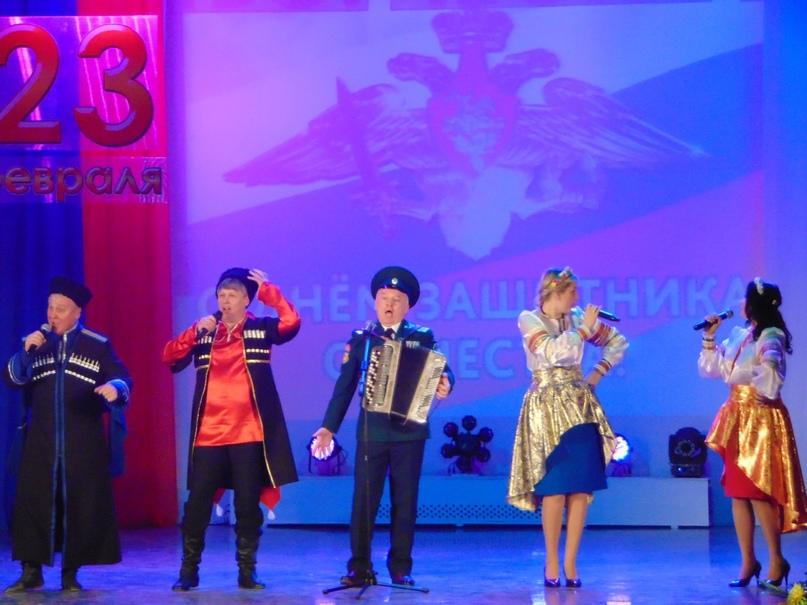 На торжественном собрании, посвященном Дню Защитника Отечества, изображение №1