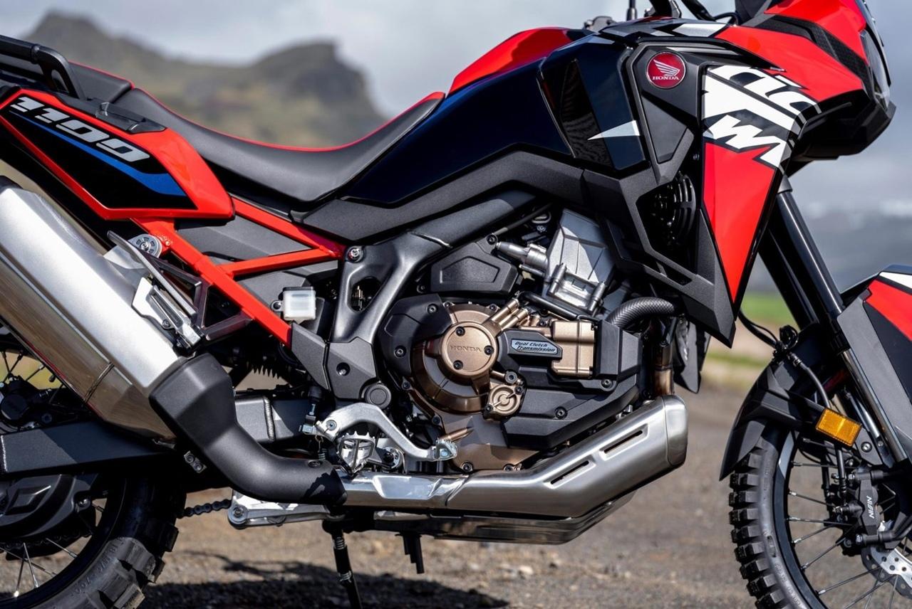 На Honda Africa 2022 обновили ПО коробки DCT